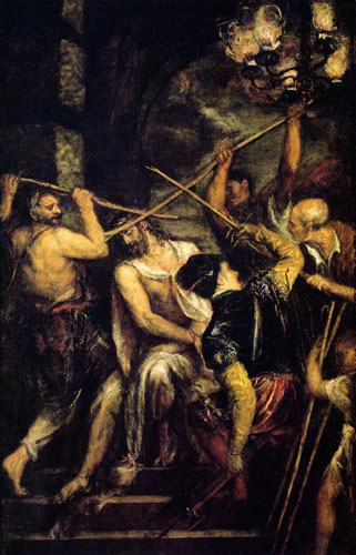 Titian Christ Crowned with thorns